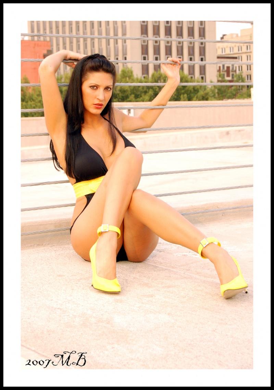 Female model photo shoot of Poca  by Mallory Bertrand Photog