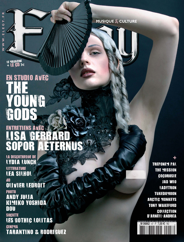 Jun 15, 2007 Elegy Magazine, Photo: Nadya Lev  Mildred