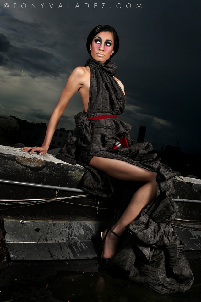 Female model photo shoot of TikiGlam and Melissa Marquez by TONY  VALADEZ, makeup by Makeup By Darcie