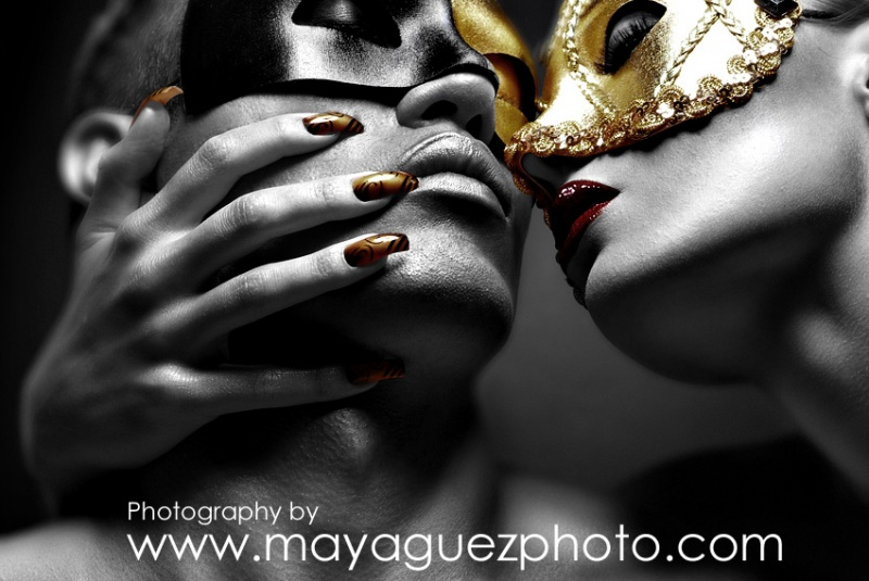 NYC Jun 18, 2007 (c) Maya Guez The Kiss.... featuring Ryan and Penthouse Pet Krista Ayne