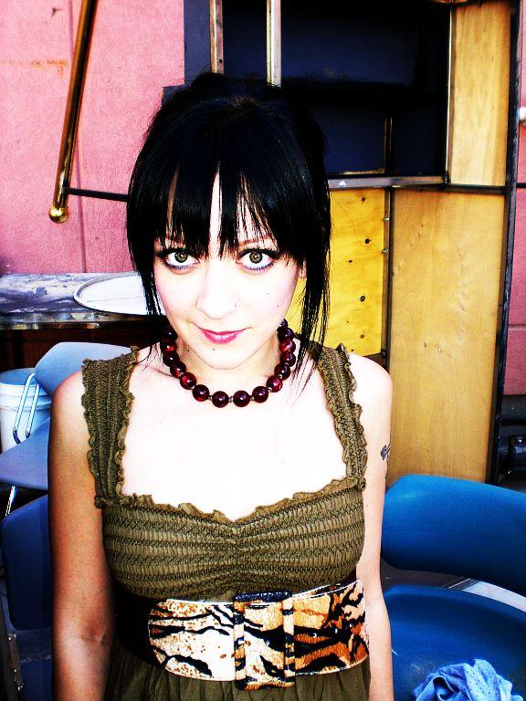 Las Vegas, Nevada Jun 18, 2007 Francesca Lombardo- Key MUA/hair/wardobe assistant On set of  Extraordinaire!