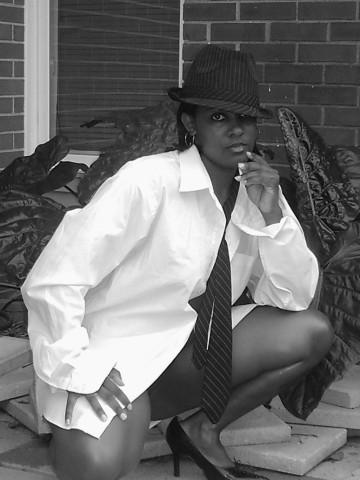 Female model photo shoot of Montoya