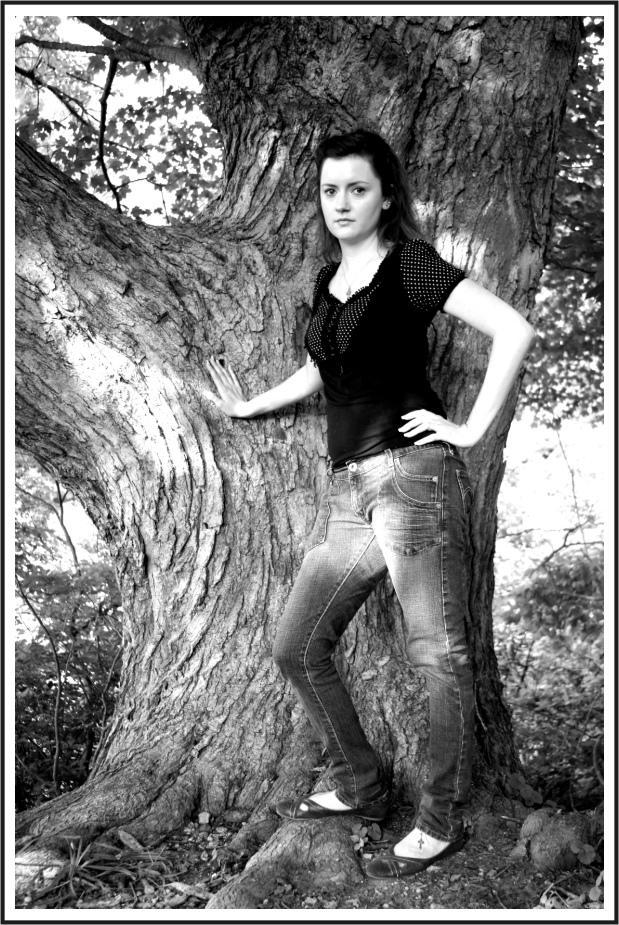 Female model photo shoot of J-N-E by DennisChunga in Tarrywile