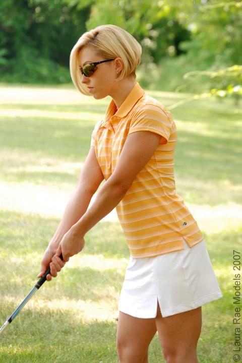 Haddonfield, NJ Jun 20, 2007 LauraRae Models Adidas Golfwear