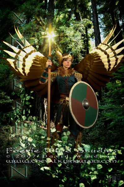 Midgard Jun 24, 2007 2007 David Windham / Faerie Wind Studios Geirahöd ~ The Forest Keeper