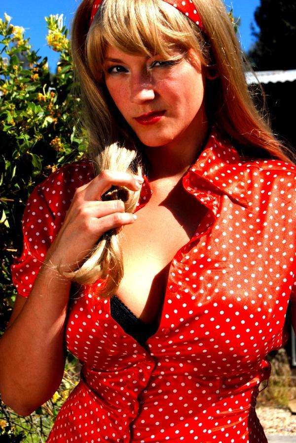 Paysen, AZ Jun 27, 2007 Penelope Jones Photography Lacy in Blonde