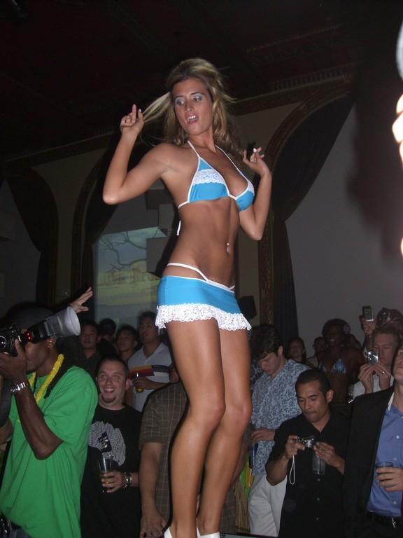 San Diego Jun 28, 2007 Hustler Fashion Show @ On Broadway