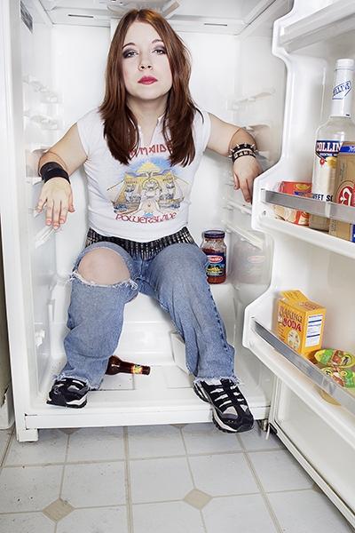 Female model photo shoot of Viva La Muerte in Chicago