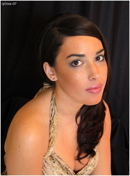 Female model photo shoot of Camelia Lefebvre-Rafik by Ixx LaPee in MTL, makeup by Navann Pich