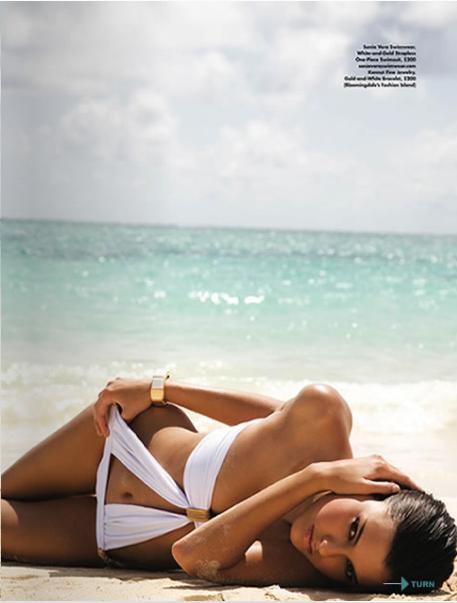Lanikai, Oahu Jul 01, 2007 Ocean Mag Ocean Magazine Editorial, Pht: Dominic Petruzzi, Model: Danielle, Stylist: Kenny Hazelwood, H/Mup: ME!