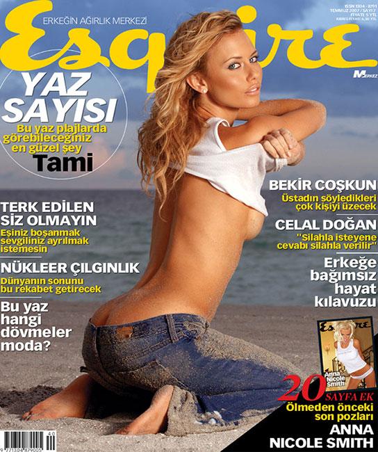 Jul 03, 2007 2007 DNAPHOTO Cover - Esquire Turkey July 2007. Tami Donaldson