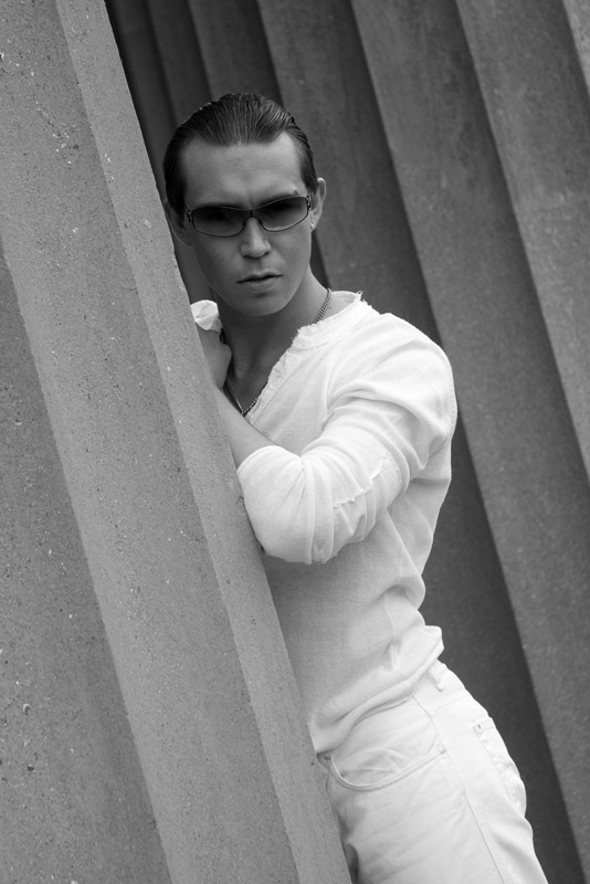 Male model photo shoot of George Wainwright by Gary Holmes Photography in Winchester