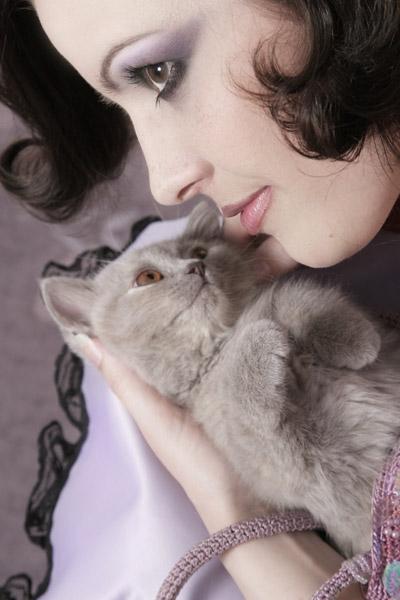 my mother`s home and cat:) Jul 09, 2007 (c) Michail Jahn,Berlin, Make-up & Hair: Jasmin Stein-Hartmann, Berlin *kitty cat*