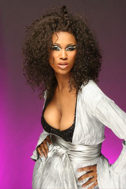 Washington DC Jul 09, 2007 Photoshoot for Black Opal Make-up