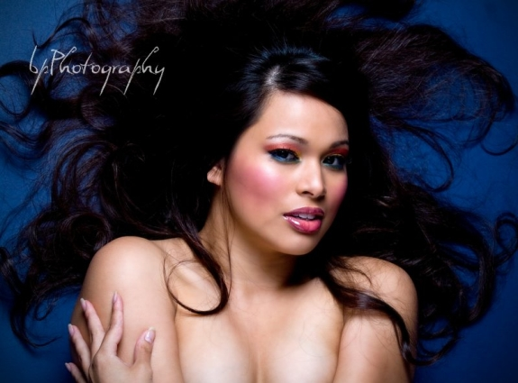 Female model photo shoot of Joyce Ann by bPatelPhotography in Sunnyvale, Ca, makeup by Kevin Michael Makeup