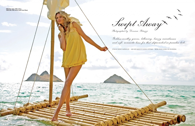 Hawaii Jul 10, 2007 Dominic Petruzzi Swept Away, Ocean Magazine Summer 2007