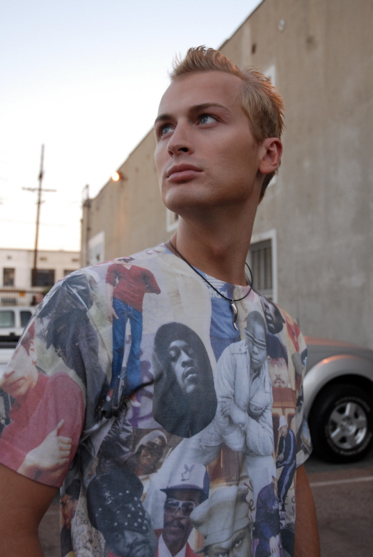 Male model photo shoot of Matt McClure by Megumix in Los Angeles