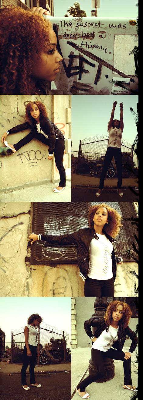Female model photo shoot of XxTiaraxX by rENo Tercero in Williamsburg, BK, NYX
