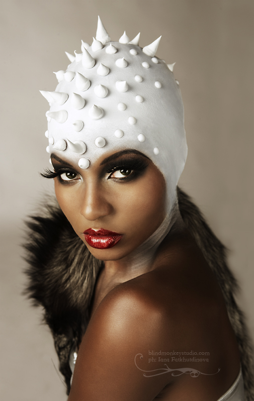 Model: Amarachi Jul 15, 2007 Blind Monkey Studio 2007 MAKEUP: CAROL WAGENER!