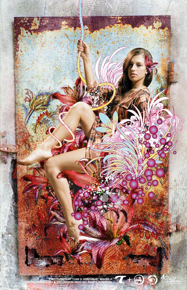Jul 20, 2007 artbytuan.com Wild Lily (Kaboom Collaboration Series)