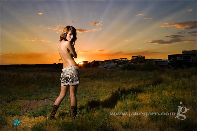 Jul 20, 2007 Jake Garn Photography Western Sunset