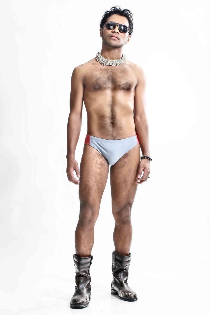 Male model photo shoot of -ARt- in Fish Jakarta
