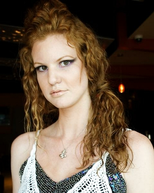 Female model photo shoot of cityliFe Studio in Fuego Bar, Austin, Texas