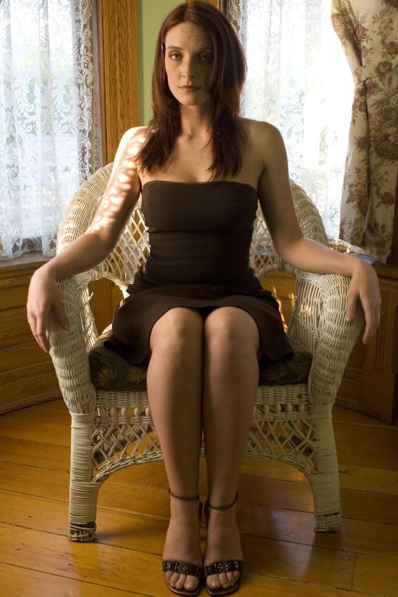 Female model photo shoot of Lethal Lisa by VanKou in Detroit, MI, makeup by Makeup by Yelena
