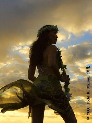 Wailea, Hawaii Jul 24, 2007 © 2006 Todd K. Mizomi Hawaiian 1