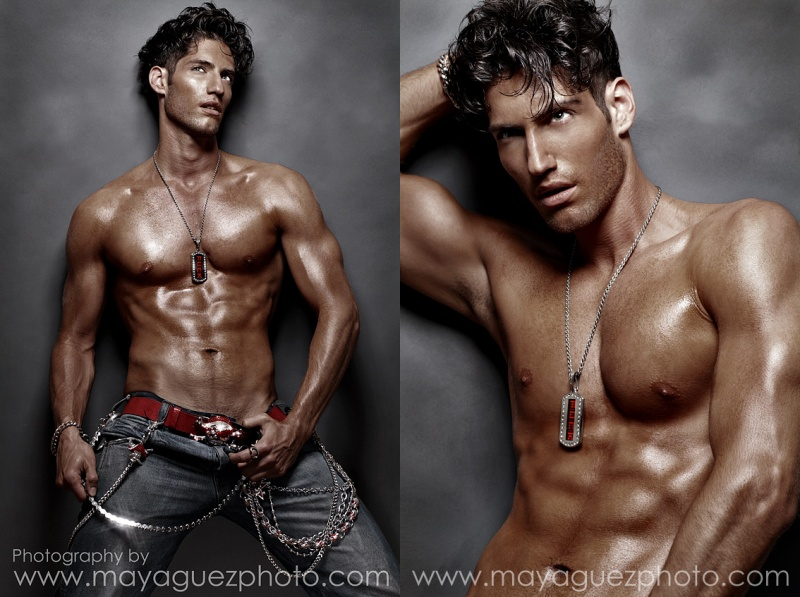 NYC Jul 24, 2007 (c) Maya Guez Yaniv Israeli model look out for him big things on the way.