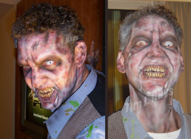 Jul 25, 2007 Zombie makeup that was for a Halloween Horror Nights promotion.