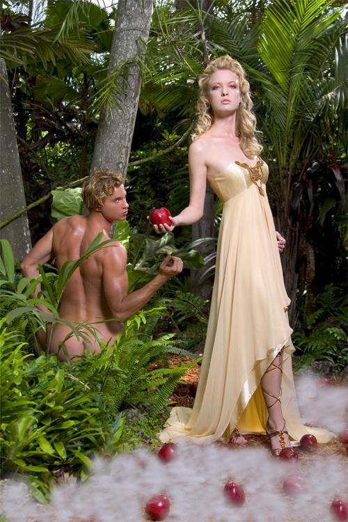 Garden of Eden Jul 27, 2007 Rodney Robledo Adam and Eve