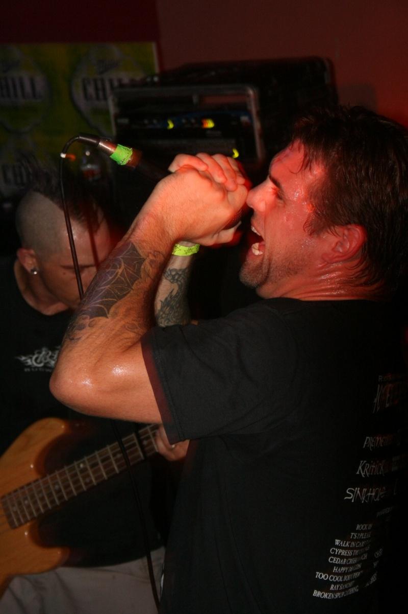 Waco, Tx Jul 27, 2007 Band - KriticKill - Singer Dave
