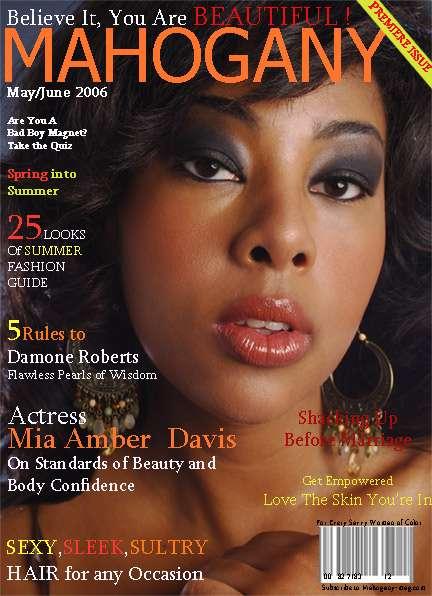 NY, NY Jul 30, 2007 Mahogany Magazine Mahogany Magazine Cover