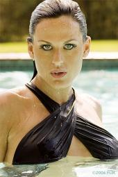 Female model photo shoot of Angel Pennington in HTL 2006
