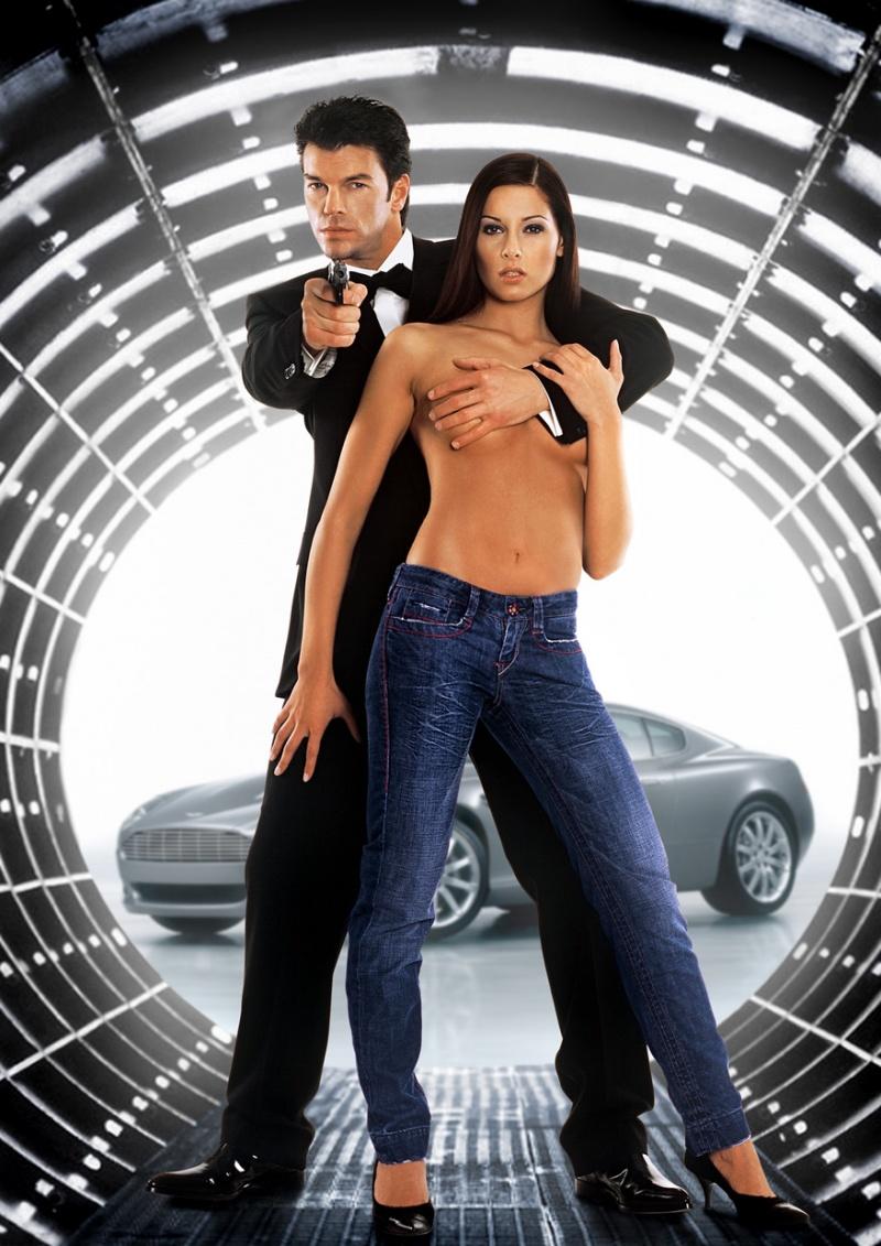Germany  Aug 01, 2007 Peter Jirmann Jr. James Bond - Denim are Forever Advertising