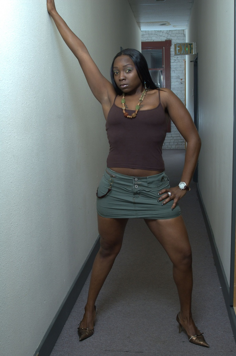 Female model photo shoot of BLACKDIAMOND AKA FOXY by Micheal Miller in WA STATE PHOTO STUDIO