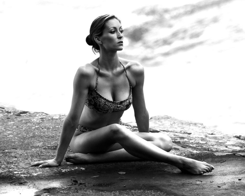 Female model photo shoot of Ells Bells by S W BUSCH STUDIOS in Cumberland Falls