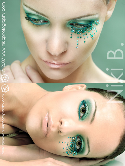 Female model photo shoot of Niki B in Vancouver, BC, makeup by YOUR FACE MY ART
