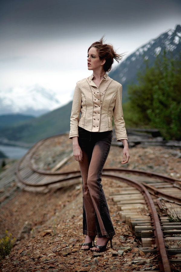 Yukon Territory Aug 06, 2007 mxphoto mountain top fashion