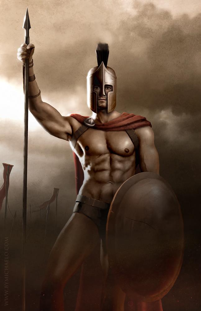 ancient SPARTA / Greece Aug 06, 2007 amazing Michaelo The Mighty Warrior