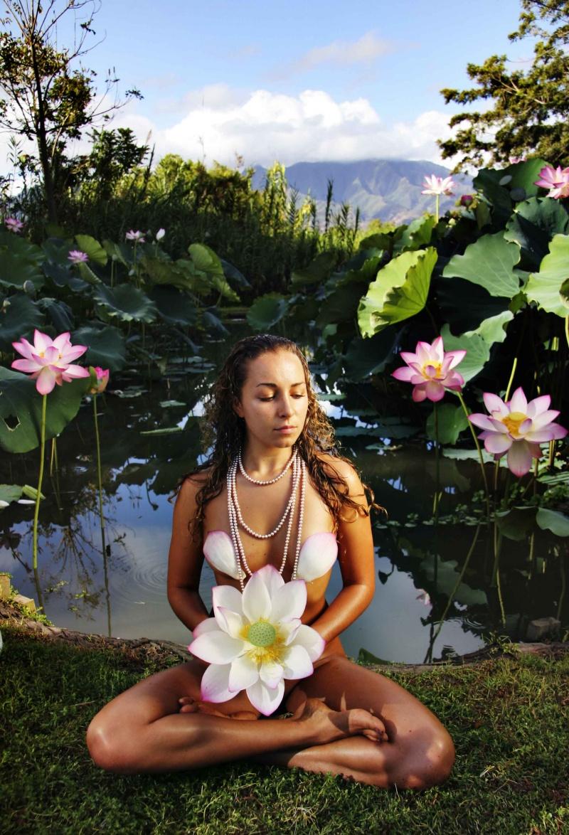 lotus Garden Aug 07, 2007 redinhawaii.com peace in the garden