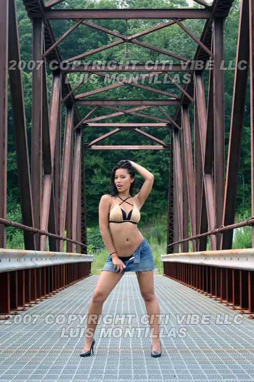 on a bridge!!  Aug 09, 2007 luis montillas this was hard... :P