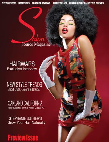 Aug 10, 2007 Tearsheet for new Salon Magazine debut. Model Divine B.