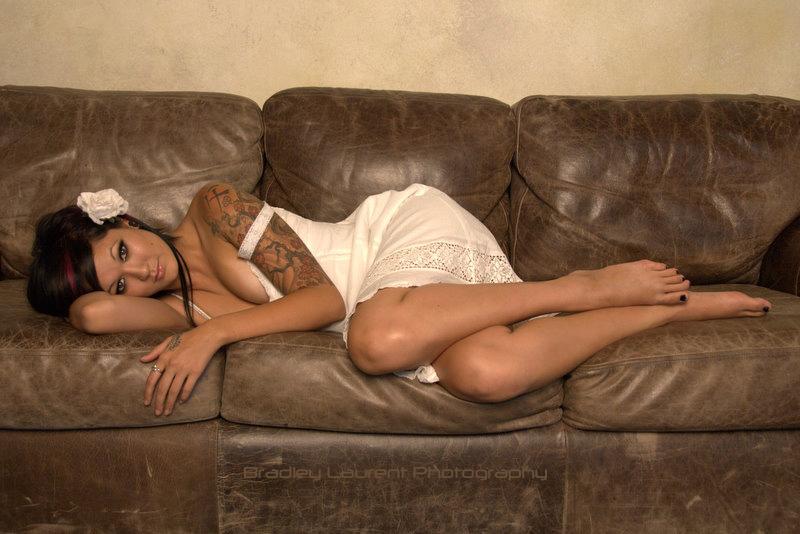Female model photo shoot of La_Lauren Nicole by -Brad- in Hollywood, CA