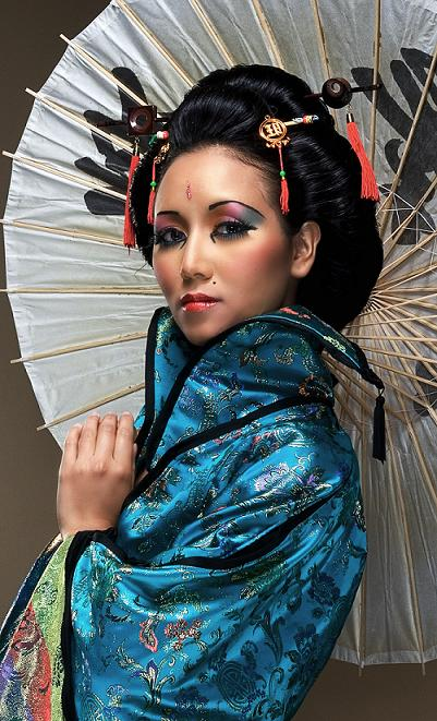 Aug 14, 2007 Perish Lewis Memiors of a Geisha .....make up by Landis styling and concept by Rukey Styles
