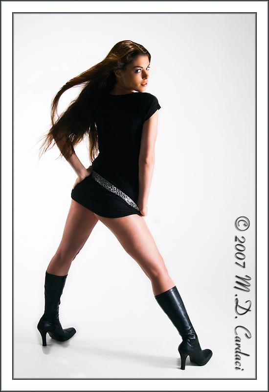 Female model photo shoot of Jaimes by Cerulean Skies
