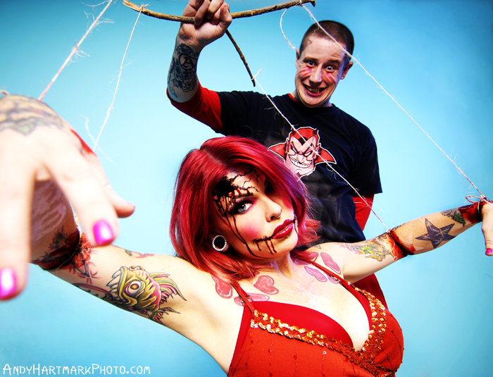 hell Aug 15, 2007 andy hartmark Princess Anna & Jeremy from Cut Throat Freak Show