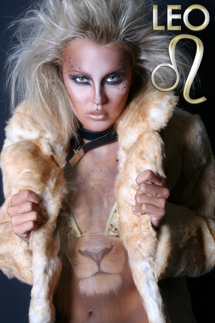 Aug 15, 2007 YMDEZIGN - Make up by Chris Lanston Zodiac Theme - Leo