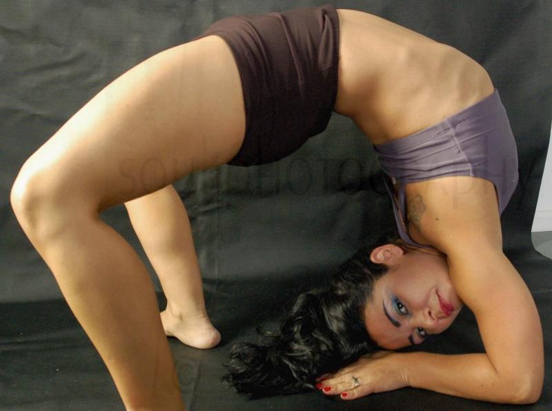 His studio  Aug 16, 2007 Eye Soul protography  flexibility :)